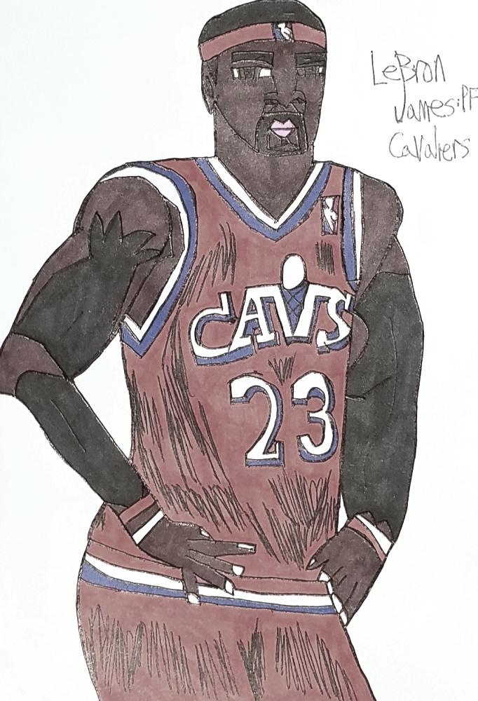 LeBron James by armattock